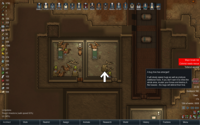 Infestation within mountain rooms bugs.png