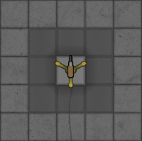 Golden Improvised Turret